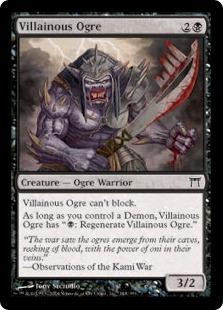 Villainous Ogre [CHK]