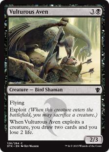 Vulturous Aven [DTK]