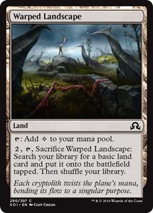 Warped Landscape [SOI]