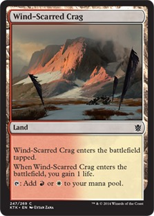 Wind-Scarred Crag [KTK]
