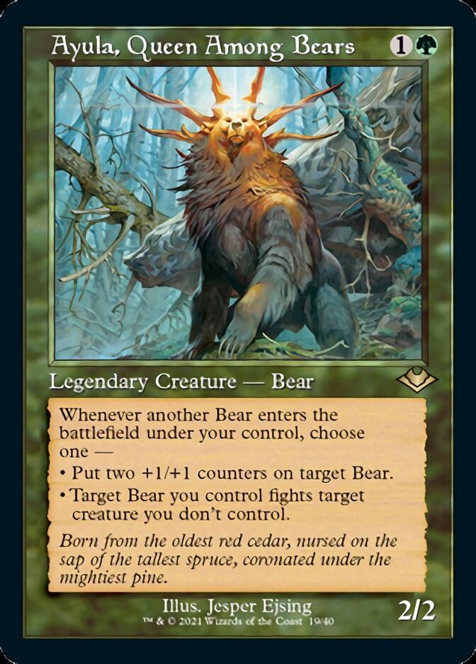 Ayula, Queen Among Bears <retro> [MH2] (F)