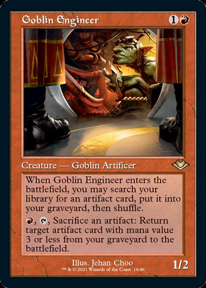 Goblin Engineer <retro> [MH2] (FE)