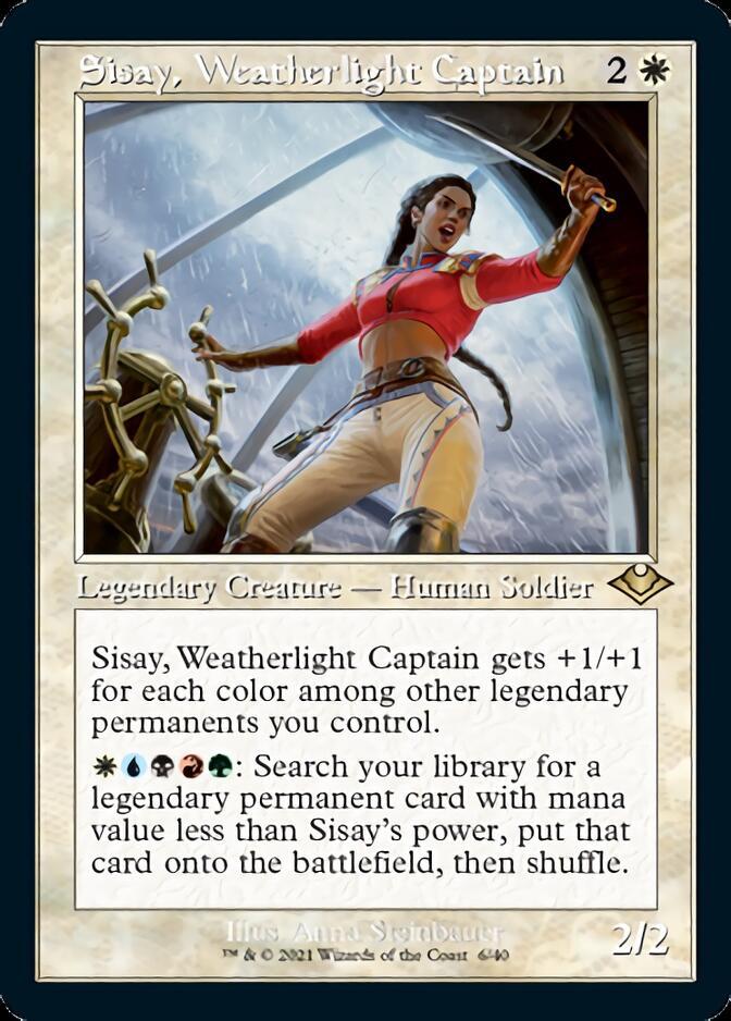 Sisay, Weatherlight Captain <retro> [MH2] (F)