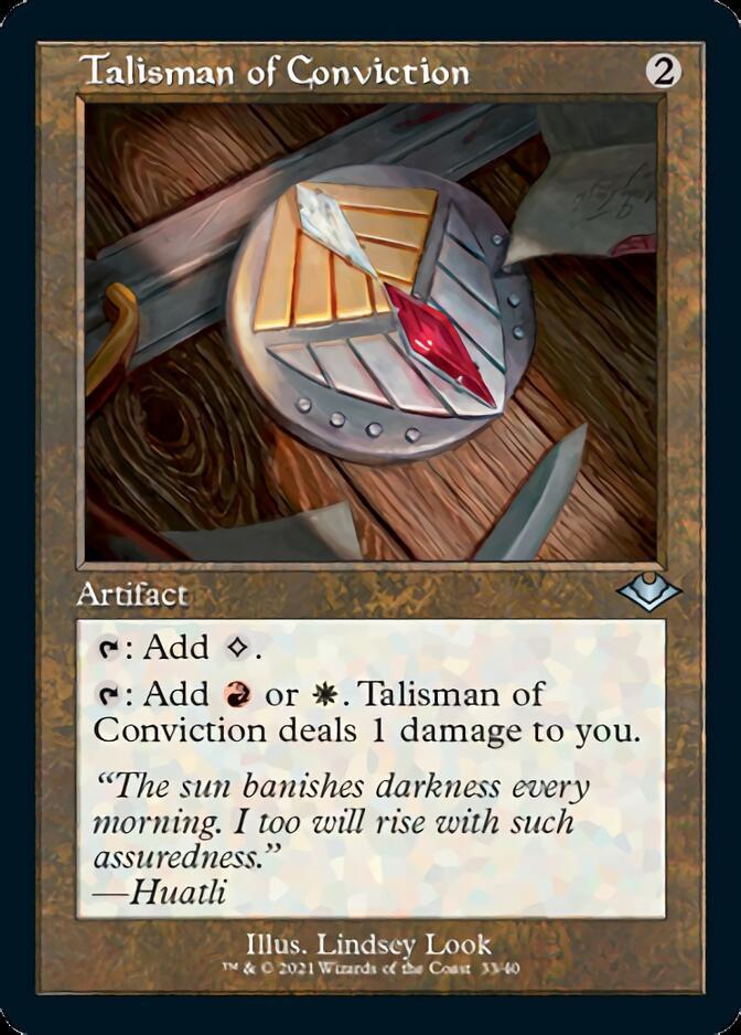 Talisman of Conviction <retro> [MH2] (F)