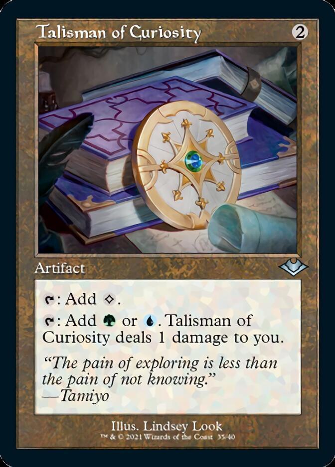 Talisman of Curiosity <retro> [MH2] (F)