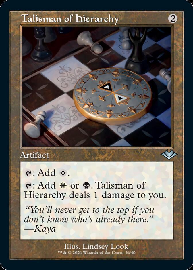 Talisman of Hierarchy <retro> [MH2] (F)