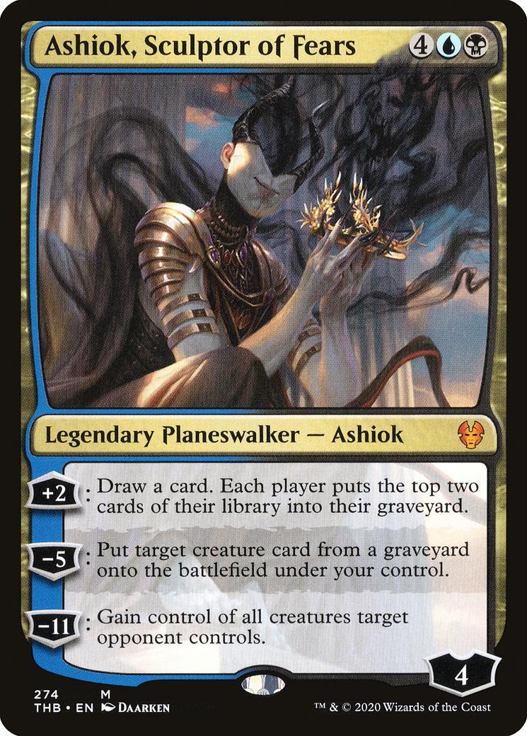 Ashiok, Sculptor of Fears [THB]