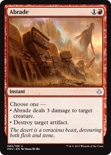 Image result for mtg Abrade