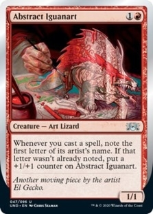 Abstract Iguanart