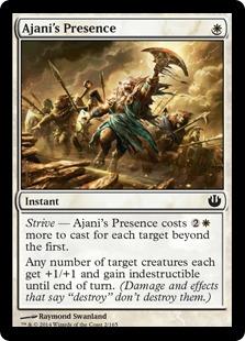 Ajani's Presence