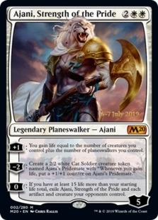 Ajani, Strength of the Pride [PRM-PRE] (F)
