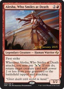 Alesha, Who Smiles at Death [PRM-PRE] (F)