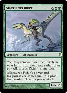 Allosaurus Rider [CSP]