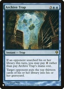 Archive Trap