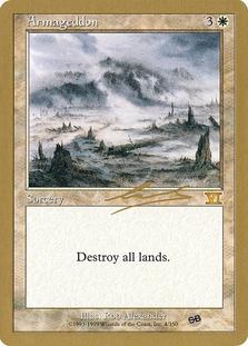 Armageddon <Nicolas Labarre - SB> [WC00]
