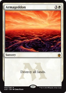 Armageddon, Masters 25 (A25) Price History