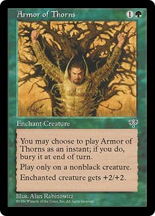 Armor of Thorns