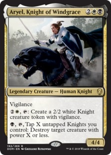 Aryel, Knight of Windgrace