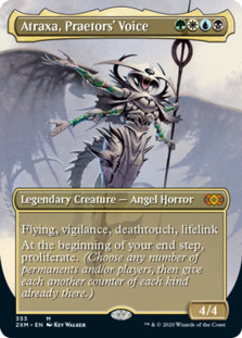 Atraxa, Praetors' Voice <borderless> [2XM]