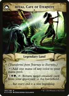 Atzal, Cave of Eternity <prerelease> [RIX] (F)