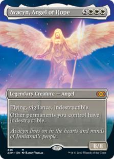 Avacyn, Angel of Hope <borderless> [2XM]