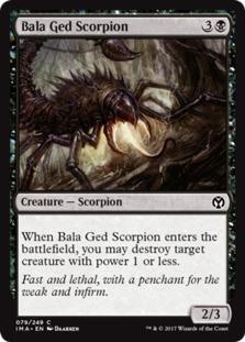 Bala Ged Scorpion