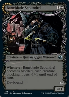 Baneblade Scoundrel <showcase> [MID]