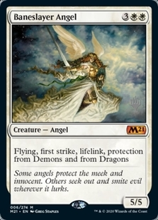 Baneslayer Angel <planeswalker stamp> [M21] (F)