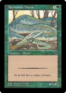 Barbtooth Wurm