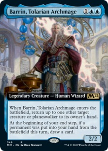 Barrin, Tolarian Archmage <extended> [M21]