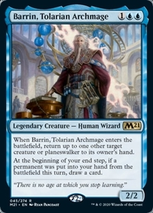 Barrin, Tolarian Archmage <planeswalker stamp> [M21] (F)