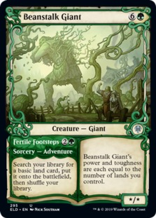 Beanstalk Giant <showcase> [ELD]