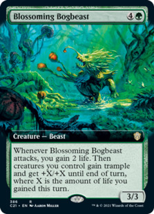 Blossoming Bogbeast <extended> [C21]