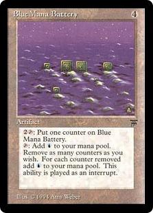 Blue Mana Battery