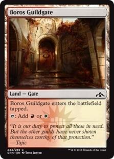 Boros Guildgate <244> [GRN]