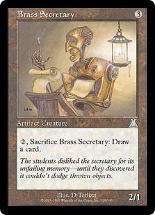 Brass Secretary