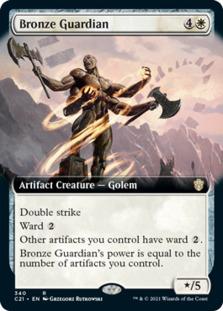 Bronze Guardian <extended> [C21]