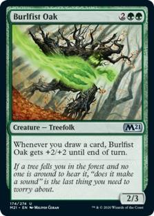 Burlfist Oak