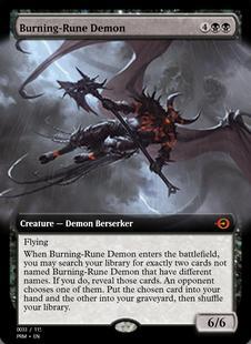 Burning-Rune Demon [PRM]