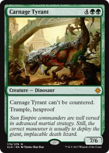 Mono-Green Stompy Carnage%2BTyrant%2B%255BXLN%255D