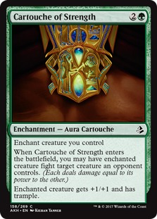 Cartouche of Strength [AKH] (F)