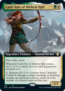 Catti-brie of Mithral Hall <extended> [AFC]