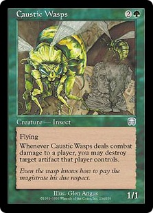 Caustic Wasps