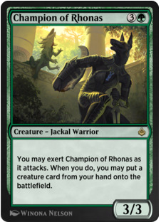 Champion of Rhonas