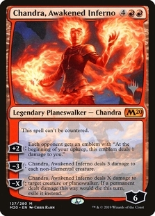 Chandra, Awakened Inferno [PPM20]
