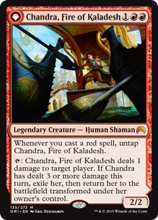 Chandra, Fire of Kaladesh [ORI]