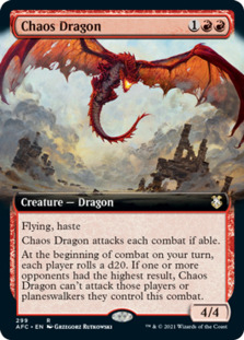 Chaos Dragon <extended> [AFC]