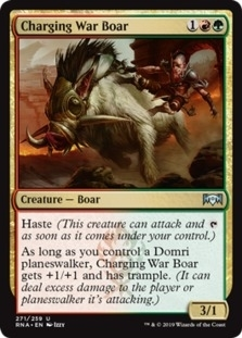 Charging War Boar