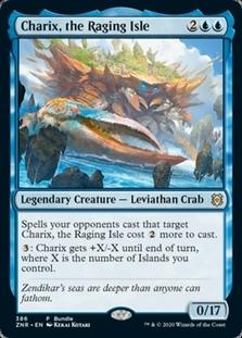 Charix, the Raging Isle <bundle> [ZNR] (F)