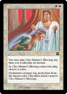 Cho-Manno's Blessing [MM]